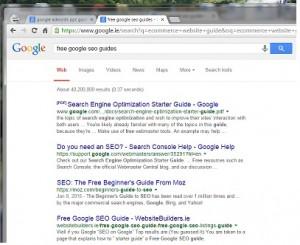 Free Google SEO Guide, Free Google SEO Guides, 2017