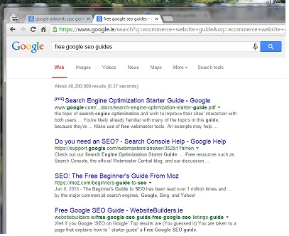 Free Google SEO Guide, Free Google SEO Guides 2018